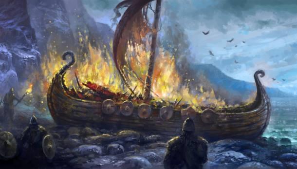 """Cattle die, kinsmen die, we ourselves die too. I know one thing that never dies: the honor of the true!"" Hávamál 76"