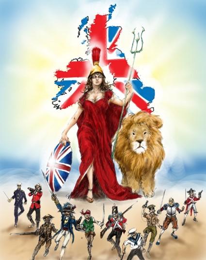 Britannia triumphant.