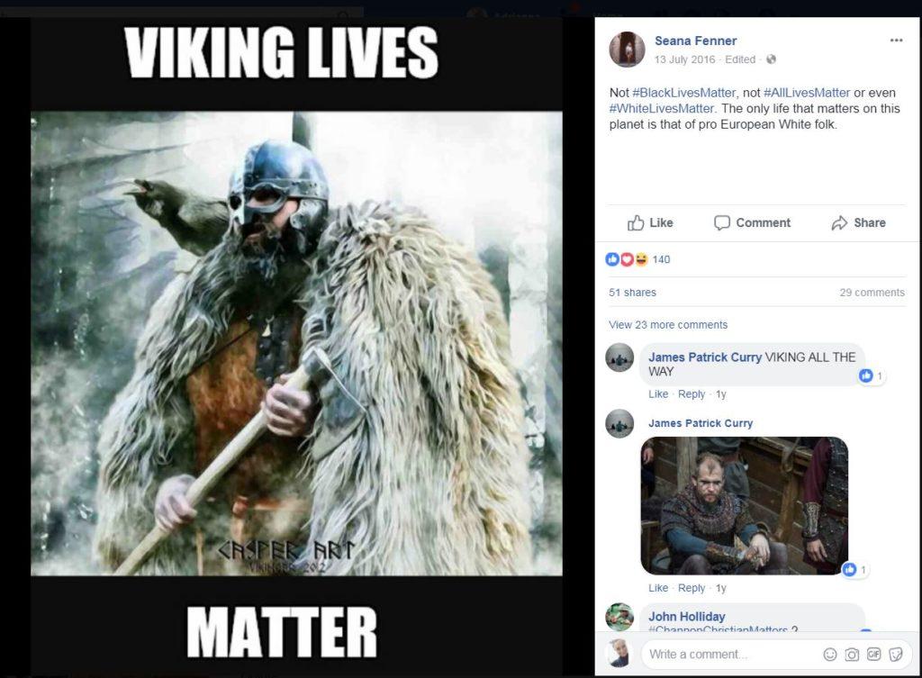 Viking lives matter...